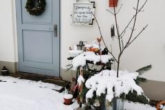 Café im Winter