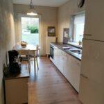 Die Küche des Gästehauses